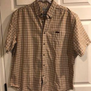 Carhartt Men's shirt sleeve plaid